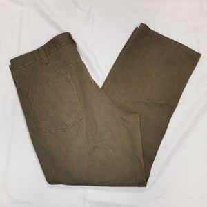 Kenneth Cole | Brown Straight Leg Pants 38x29
